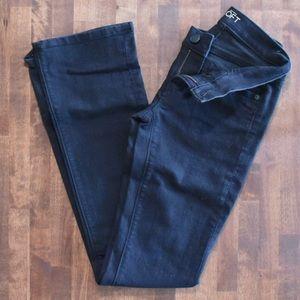 LOFT Black Bootcut Jeans